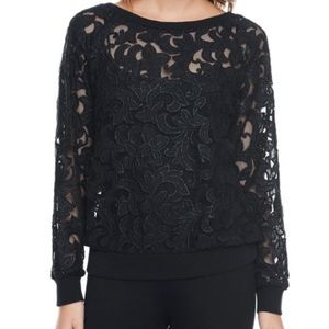 Juicy Couture Corded Lace Top
